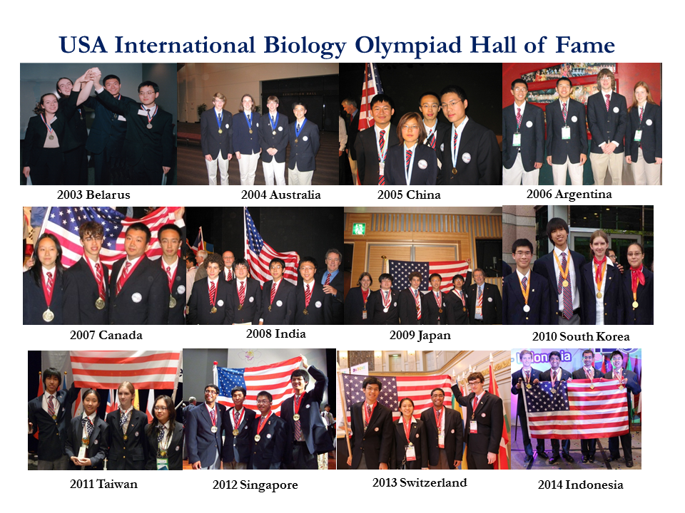 International Biology Olympiad (IBO) | CEE | USA Biology Olympiad